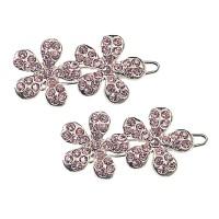 Lisbeth Dahl Haarspangen 'Blumen' rosa