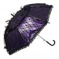 Von Lilienfeld Spitzenschirm 'Luna' violett