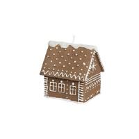 Broste Kerze 'Honigkuchenhaus' groß