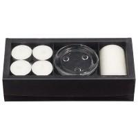 Broste Kerzenbox 'Weiße Gardenie'