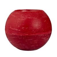 Broste Gigantkerze 'rund' rot