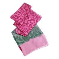 Schal 'Leo/Paisley' pink
