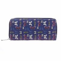 Intrigue Portemonnaie 'Schmetterling' blau