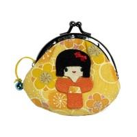 Nordal Portemonnaie 'Kokeshi' gelb