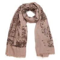 Intrigue Schal mit Vintage-Muster