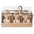 Broste Teelichter 'Engel' gold